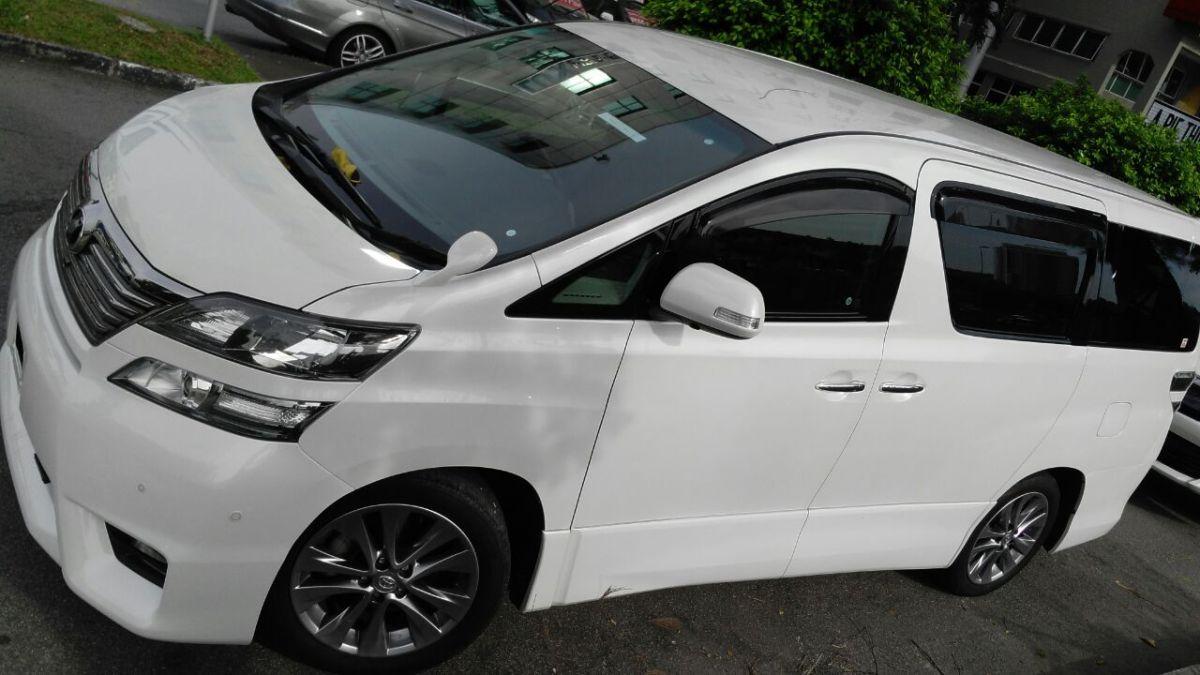 VELLFIRE3 - Car Rental/Kereta Sewa/Wedding Car/Classic Car