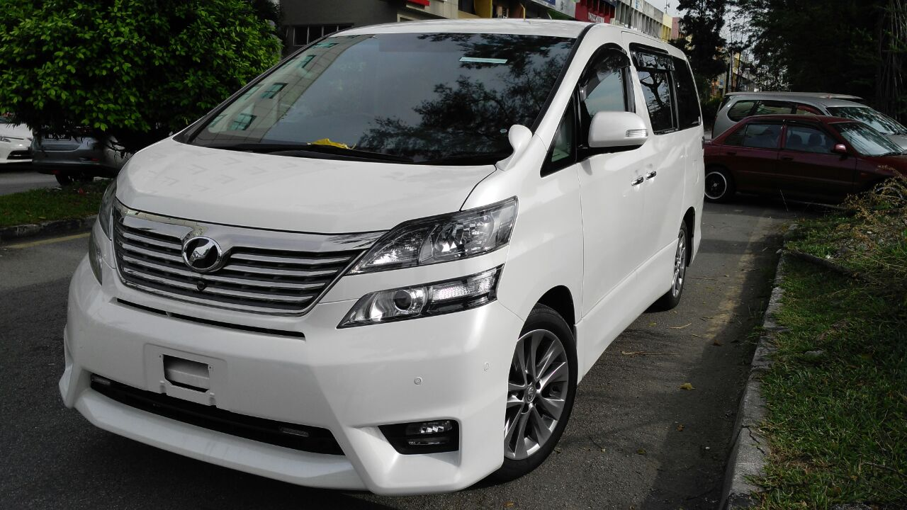Mpv Alphard Vellfire Starex For Rental 24 Hrs Rm300 Day