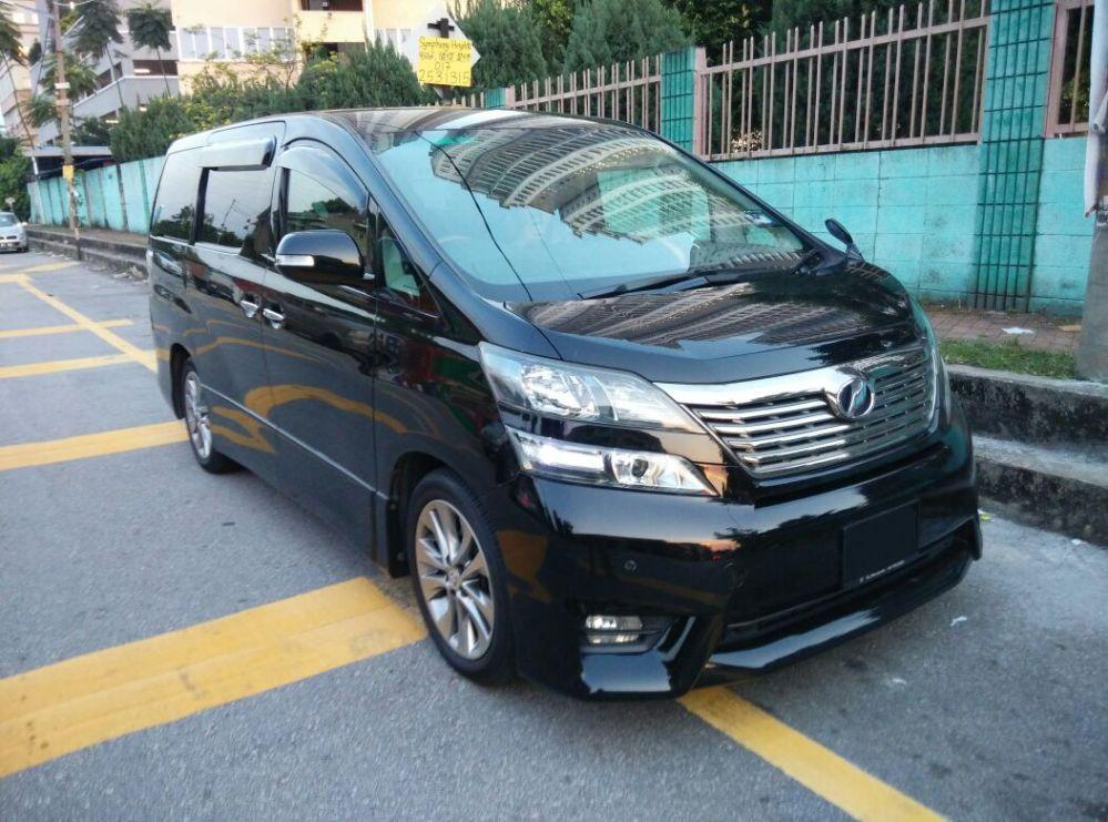 MPV Alphard/Vellfire/Starex for Rental 24 hrs RM300/day +60146309976 (3/6)